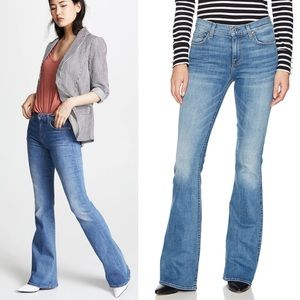 7 For All ManKind Flare Wide Leg Jeans